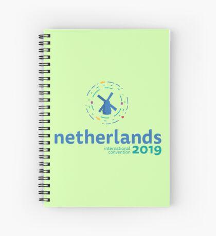 Utrecht, Netherlands - 2019 International Convention Spiral Notebook