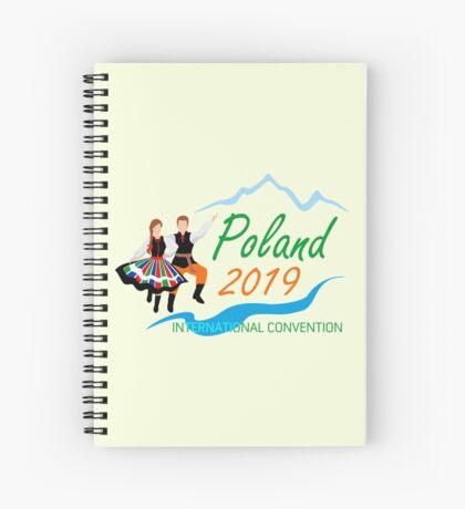 Warsaw, Poland - 2019 International Convention Spiral Notebook