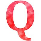 Letter Q - Red by gaman