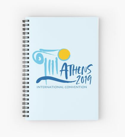 Athens, Greece - 2019 International Convention Spiral Notebook