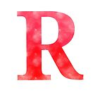 Letter R - Red by gaman