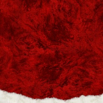 Funny Christmas Santa Costume Cosplay Outfit - Fluffy Red and White by ThisOnAShirt