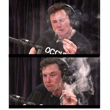 Elon Musk Marijuana by Nkioi