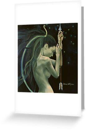 """Sagittarius""…from ""Zodiac signs"" series by dorina costras"