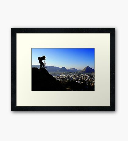 The Dangerous Photographer#2 Framed Print