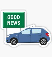 Good News! It's James May's Dacia Sandero Design  Sticker