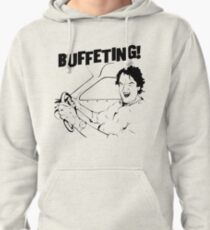James May's Buffeting Design Pullover Hoodie