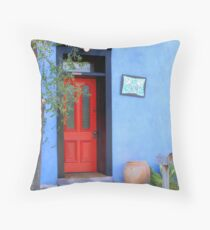 Bluesy Throw Pillow