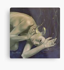 """""""Pisces""""…from """"Zodiac signs"""" series Metal Print"""