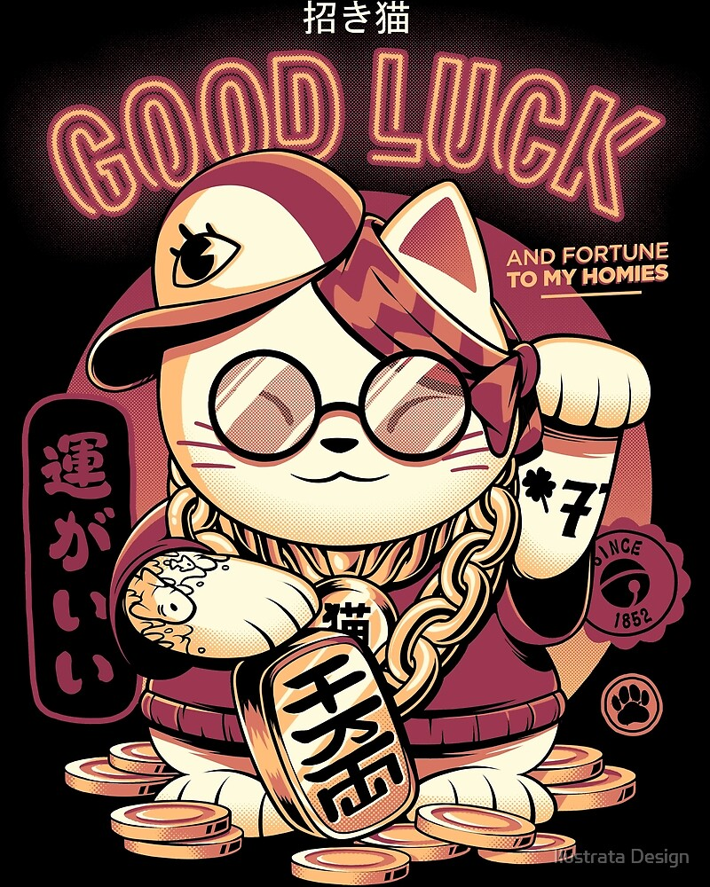 Lucky Cat by Ilustrata Design