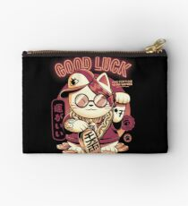 Lucky Cat Zipper Pouch
