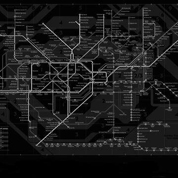 London Underground by WiltWilde