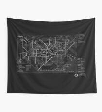 London Underground Wall Tapestry