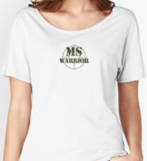 MS Warrior Women's Relaxed Fit T-Shirt