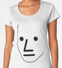 NPC Wojak Women's Premium T-Shirt