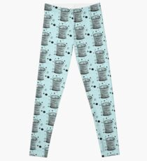 Sew in Love doodle spool of thread buttons sewing pins Leggings