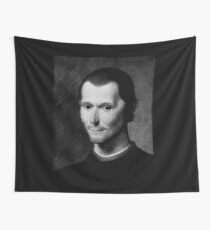Niccolo  Machiavelli Wall Tapestry