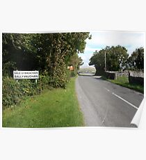 Ballyvaughan village Poster
