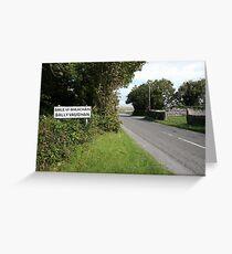 Ballyvaughan village Greeting Card