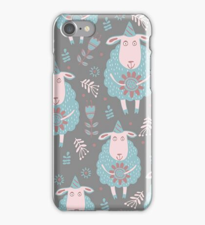 Cute moutons iPhone Case/Skin