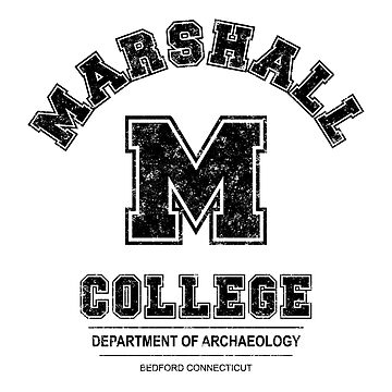 Indiana Jones - Marshall College Heavy Distressed Blk Variant by Purakushi