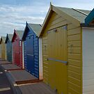Beach Huts, Dawlish Warren by SusanAdey