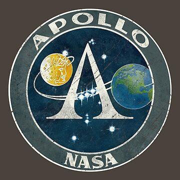 Apollo Classic Vintage Badge by Lidra