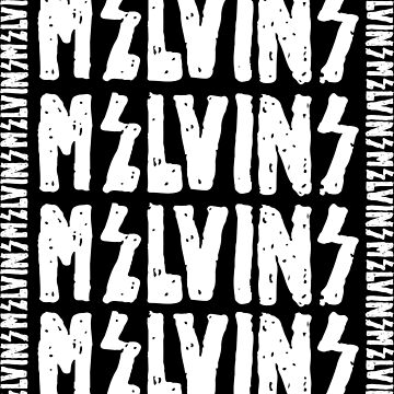 Melvins font inverse by PsychoProjectTS