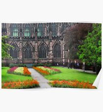 Chester Cathedral Poster