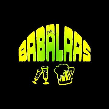 South African Hangover Babalaas Funny Afrikaans by antzyzzz