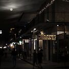 Moon over Bourbon Street - Sting by George Parapadakis ARPS (monocotylidono)