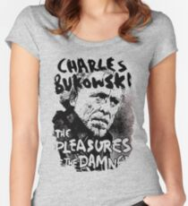 Charles Bukowski Women's Fitted Scoop T-Shirt