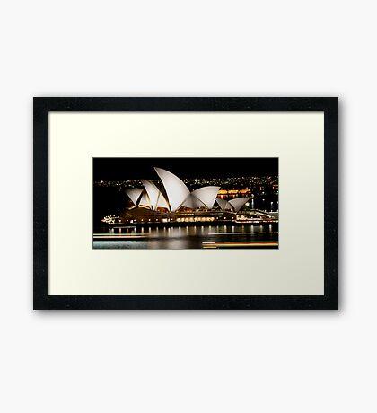 Sydney Opera House - Australia Framed Print