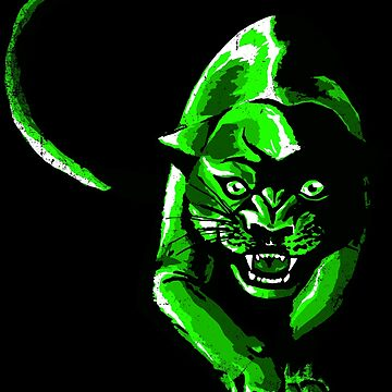 Poison green panther by Skady666