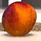 A Fresh South Carolina Peach by TJ Baccari Photography