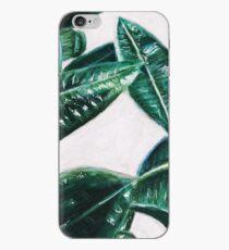Exquisite Greenery iPhone Case