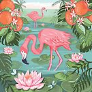 Flamingo Grove by Angie Spurgeon