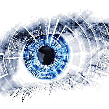 Computer eye by comtessek