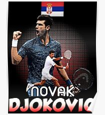 Tennis Novak DjokoVic Us Tshirt Poster