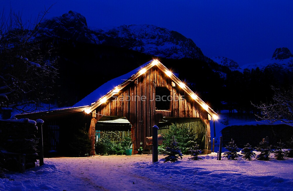 Christmas is Close, Austria by Sabine Jacobs