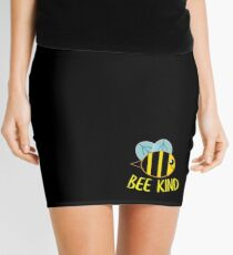 Bee Kind, Be Kind Mini Skirt