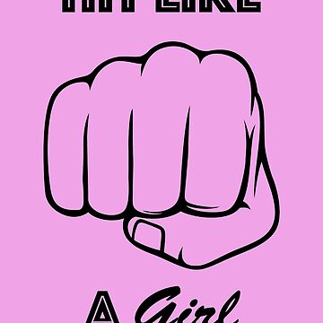 Hit Like A Girl (Version 1) by AryaDaeriel