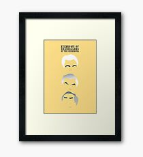 Eyebrows of Chancellors of the Exchequer Framed Print