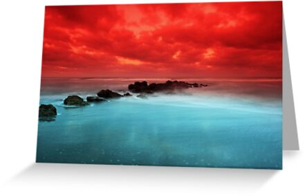 Red Sky at Morning by kathy s gillentine