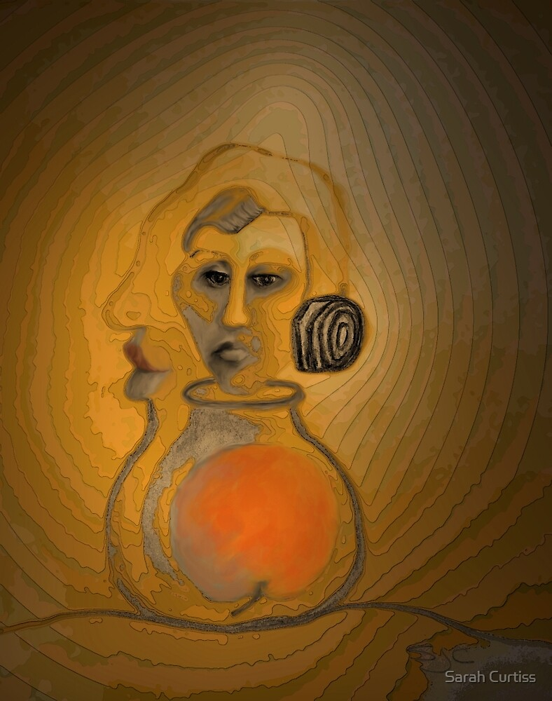Genie Out Of The Bottle: Eve, Painted by Sarah Curtiss