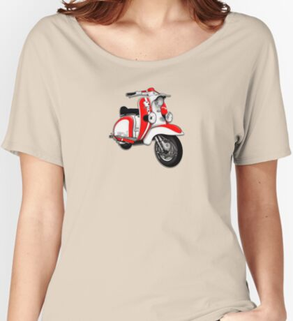 Scooter T-shirts Art: TV 175 Series 1 Mod style racer. Women's Relaxed Fit T-Shirt