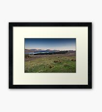 A Scottish Dusk Framed Print