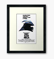 Stanley Kubrick's Foot Clan Ninja Framed Print