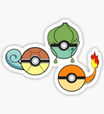 Choose Your Starter Red   Sticker