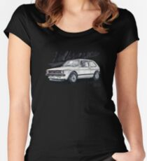 Volkswagen golf GTI Women's Fitted Scoop T-Shirt